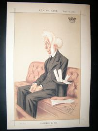 Vanity Fair Print 1873 Lord Colonsay, Legal